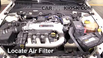 2005 Saturn L300 3.0L V6 Filtro de aire (motor)