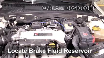 2005 Saturn L300 3.0L V6 Brake Fluid