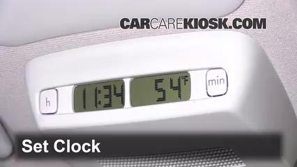 2005 Volkswagen Beetle GLS 1.8L 4 Cyl. Turbo Hatchback Clock Set Clock