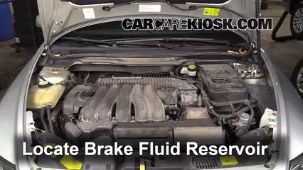2005 Volvo S40 i 2.4L 5 Cyl. Brake Fluid