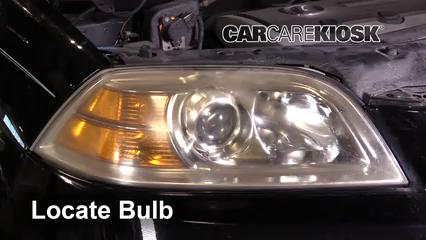 headlight change 2001 2006 acura mdx 2002 acura mdx 3 5l v6 Acura MDX Headlight Bulb