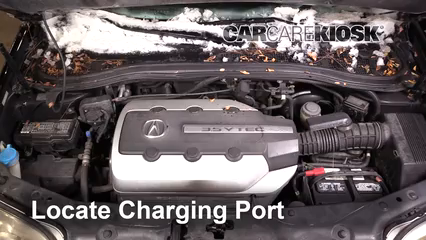 2006 Acura MDX Touring 3.5L V6 Air Conditioner Recharge Freon