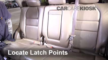 Car Seat Installation on a 2003 - 2008 Honda Pilot - 2006