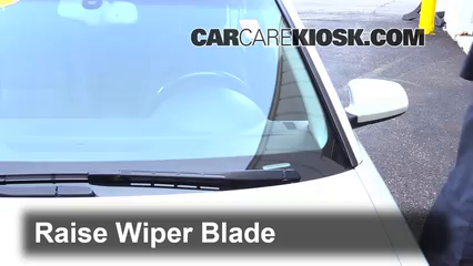 2006 Audi A4 Quattro 2.0L 4 Cyl. Turbo Windshield Wiper Blade (Front) Replace Wiper Blades