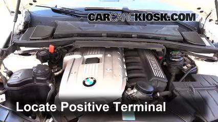 How to Jumpstart a 2006-2013 BMW 325i - 2006 BMW 325i 3 0L 6