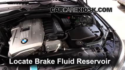Add Brake Fluid: 2004-2010 BMW 545i - 2005 BMW 545i 4.4L V8