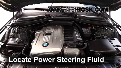 2006 BMW 530xi 3.0L 6 Cyl. Wagon Power Steering Fluid