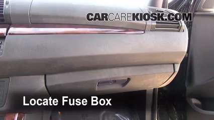 Interior Fuse Box Location 2000 2006 BMW X5 2006 BMW X5