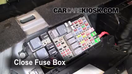 Interior Fuse Box Location: 2006-2011 Buick Lucerne - 2006 Buick ...