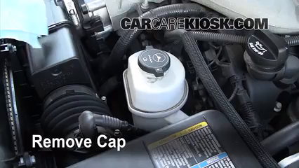Check Power Steering Level Cadillac Cts 2003 2007 2006