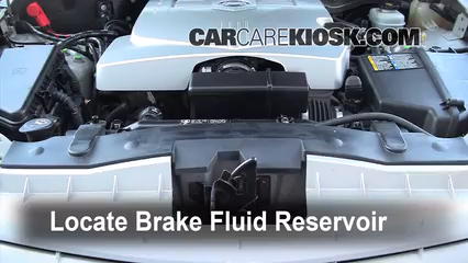 2006 Cadillac CTS 3.6L V6 Brake Fluid Check Fluid Level