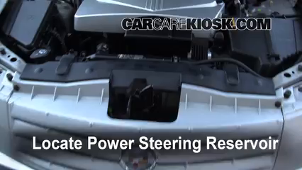 follow these steps to add power steering fluid to a cadillac cts rh carcarekiosk com 2005 cadillac cts owners manual free 2005 cadillac cts service manual