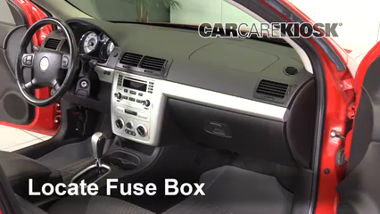 [WQZT_9871]  Interior Fuse Box Location: 2005-2010 Chevrolet Cobalt - 2007 Chevrolet Cobalt  SS 2.4L 4 Cyl. Coupe (2 Door) | 2007 Cobalt Ss Fuse Box |  | CarCareKiosk