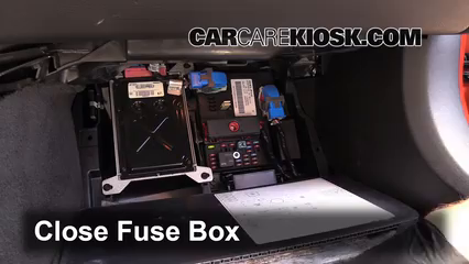 interior fuse box location 2005 2013 chevrolet corvette 2006 rh carcarekiosk com Freightliner Fuse Box Location Ford F-150 Fuse Box Location