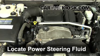 Fix Power Steering Leaks Chevrolet Trailblazer (2002-2009