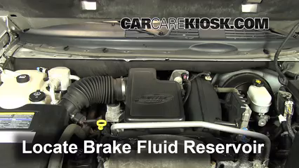 2006 Chevrolet Trailblazer LT 4.2L 6 Cyl. Brake Fluid