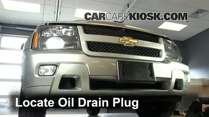 2006 chevrolet trailblazer lt 4 2l 6 cyl  oil change oil and oil filter