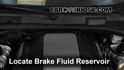 2006 Dodge Magnum RT 5.7L V8 Brake Fluid Check Fluid Level