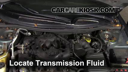 Transmission Fluid Level Check Dodge Stratus (2001-2006