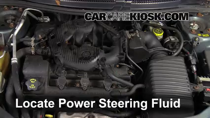 2006 Dodge Stratus SXT 2.7L V6 Power Steering Fluid Check Fluid Level