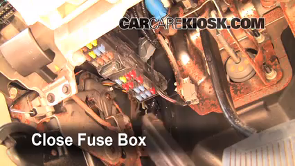 Interior Fuse Box Location 2006 2010 Ford Explorer 2006