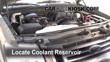 Coolant Flush Howto Ford Explorer 20062010 2006. 2006 Ford Explorer Eddie Bauer 40l V6 Coolant Antifreeze Add. Ford. 2006 Ford Ranger Coolant Parts Diagrams At Scoala.co