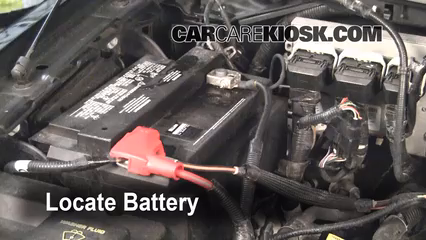 Battery Replacement   Ford F   Ford F  L V Extended Cab Pickup  Door
