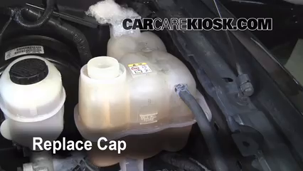 How To Add Coolant Ford F 150 2004 2008 2006 Ford F
