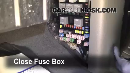 interior fuse box location: 2004-2008 ford f-150 - 2006 ford f-150 xlt 5 4l  v8 extended cab pickup (4 door)