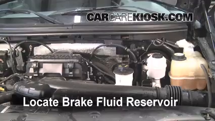 2006 Ford F-150 XLT 5.4L V8 Extended Cab Pickup (4 Door) Brake Fluid Check Fluid Level