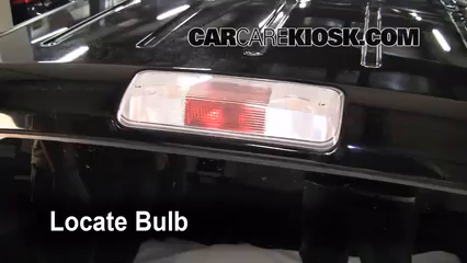 Third Brake Light Bulb Change Ford F 150 2004 2008 2006