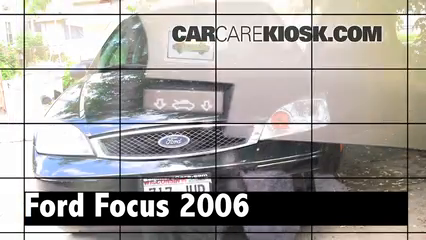 2006 Ford Focus ZX3 2.0L 4 Cyl. Review
