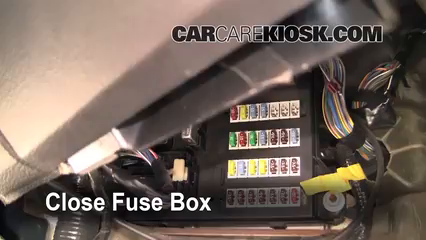 interior fuse box location: 2006-2009 ford fusion - 2006 ford fusion se  3 0l v6