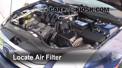 2006 Ford Fusion SE 3.0L V6 Air Filter (Engine) Replace