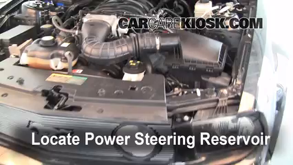2006 Ford Mustang GT 4.6L V8 Coupe%2FPower Steering Part 1 follow these steps to add power steering fluid to a ford mustang