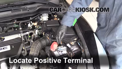 How To Jumpstart A 2003 2007 Honda Accord   2006 Honda Accord EX 2.4L 4  Cyl. Coupe (2 Door)