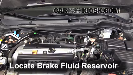 2006 Honda Accord EX 2.4L 4 Cyl. Coupe (2 Door) Brake Fluid