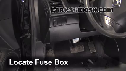 interior fuse box location 2003 2007 honda accord 2006 honda