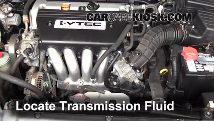 2006 Honda Accord EX 2.4L 4 Cyl. Coupe (2 Door) Transmission Fluid