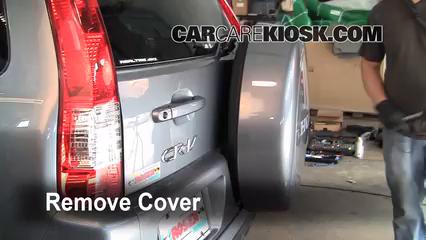 Locate And Remove The Spare Tire