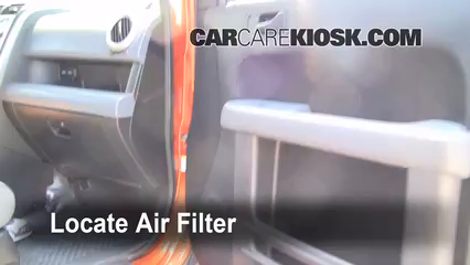 2006 Honda Element EX 2.4L 4 Cyl. Air Filter (Cabin)