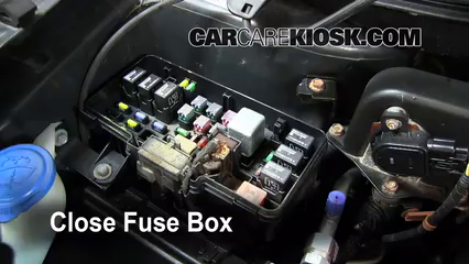 blown fuse check 2003 2008 honda pilot 2006 honda pilot ex 3 5l v6 2005 Jeep Grand Cherokee Fuse Box 6 replace cover secure the cover and test component