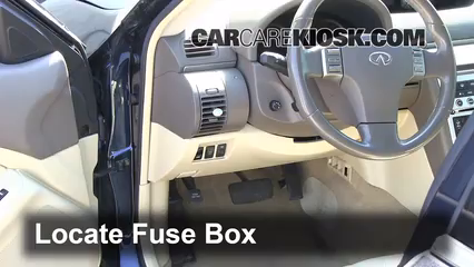interior fuse box location 2003 2007 infiniti g35 2006 infiniti rh carcarekiosk com 2003 Infiniti G35 Fuse Box Location Infiniti G35 Fuse Box Layout