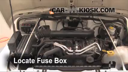 battery replacement   jeep wrangler  jeep