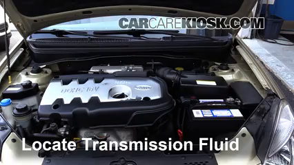 2006 Kia Rio 1.6L 4 Cyl. Transmission Fluid Add Fluid