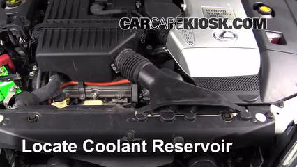 how to add coolant lexus rx400h (2004 2009) 2006 lexus rx400h 3 3l v6 Coolant for Lexus ES 350 2006 lexus rx400h 3 3l v6 coolant (antifreeze) fix leaks