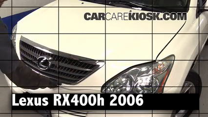 2006 Lexus RX400h 3.3L V6 Review