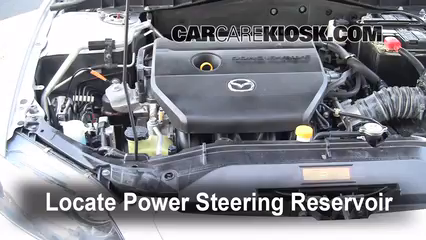 Follow These Steps to Add Power Steering Fluid to a Mazda 3