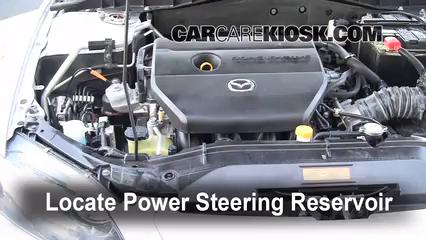 follow these steps to add power steering fluid to a mazda 6 2003 rh carcarekiosk com 2005 Mazda 6 Hatchback 2005 Mazda 6s