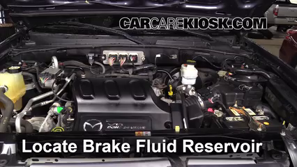 2006 Mazda Tribute S 3.0L V6 Brake Fluid